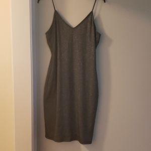Leith Shine Slip Dress